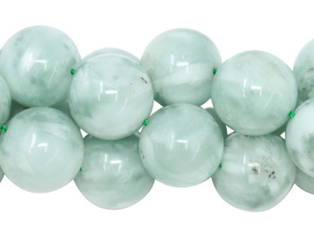 Green Angelite Polished 16mm Round
