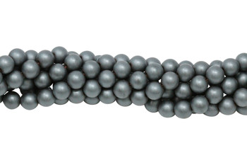Hematite Matte 6mm Round