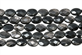 Hypersthene Polished 10x14mm Faceted Oval