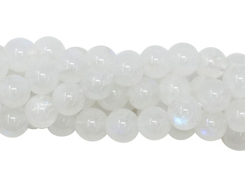 Rainbow Moonstone A Grade Polished 6mm Round