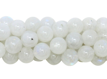 Rainbow Moonstone A Grade Polished 8mm Round