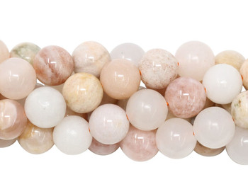 Peach Moonstone Polished 8mm Round