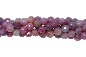 Ruby Polished 6-7mm Faceted Round