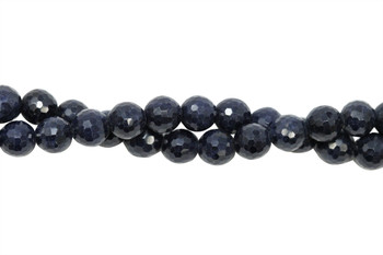 Blue Madagascar Sapphire Polished 6mm Faceted Round