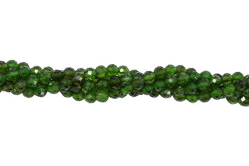Chrome Diopside Polished 4mm Faceted Round