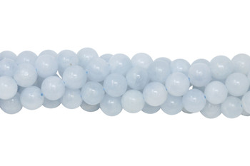 Blue Calcite Polished 8mm Round