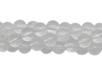 Milky Quartz Polished 6mm Round
