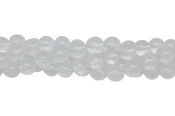 Milky Quartz Polished 8mm Round