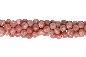 Rhodochrosite Polished 6mm Round