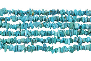 American Turquoise Polished 5-8mm Chips