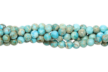 Aqua Terra Jasper Polished 4mm Round