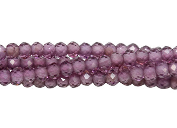Purple Garnet Grade AAA Polished 1.5mm Faceted Round
