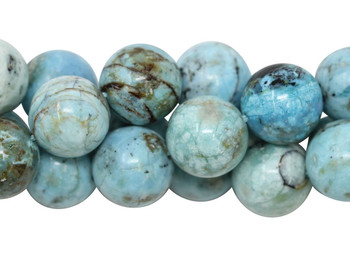 Blue Opal Grade AAA Polished 12mm Round