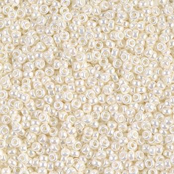 Size 11 Miyuki Seed Beads -- 591 Pearl Ceylon