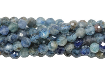 Kyanite Multi Blue Polished 3mm Faceted Round