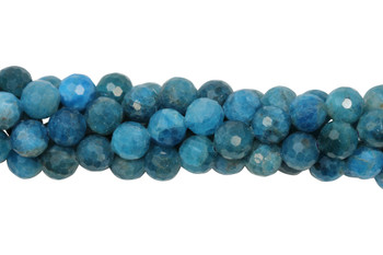 Apatite Polished 8mm Facted Round