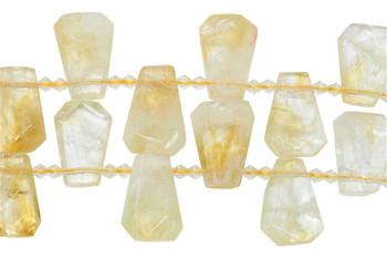 Citrine Polished 30x20mm Trapezoid