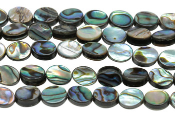 Abalone 8x6mm Oval