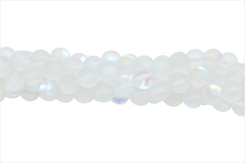 Crystal AB Matte 8mm Round