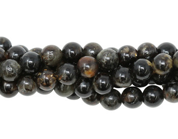 Black Mica Polished 6mm Round