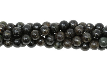 Black Mica Polished 8mm Round