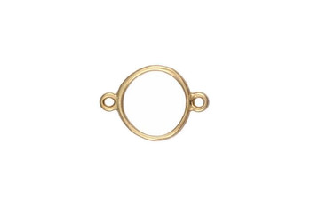 Small Organic Circle Connector - Vermeille