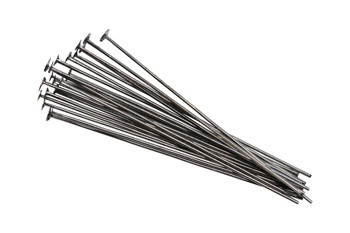 "Gunmetal 1.5"" Long 24 Gauge Head Pins - 20 Pieces"