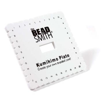 Square Kumihimo Plate