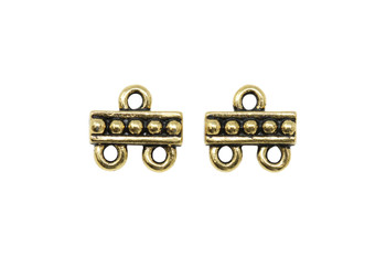 2 to 1 Link - Gold Plated
