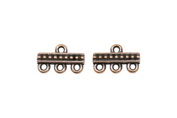 3 to 1 Link - Copper Plated