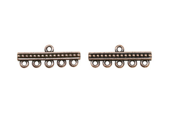5 to 1 Link - Copper Plated