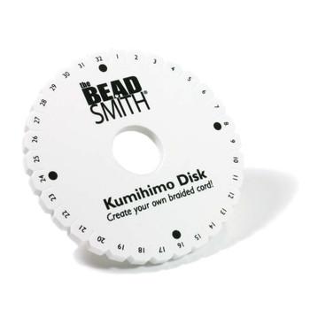 Round Kumihimo Braiding Disk