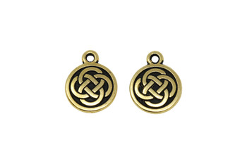 Celtic Round  - Gold Plated