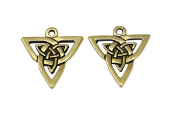 Open Triangle  - Gold Plated