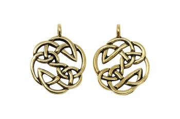 Open Knot  - Gold Plated