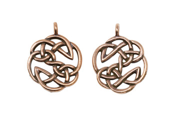 Open Knot  - Copper Plated