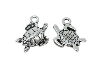 Sea Turtle  - Silver Plated