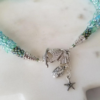 Abalone  - Silver Plated