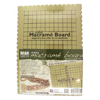 Mini Macrame Bead Board