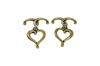 Jubilee Toggle Bar and Eye - Gold Plated