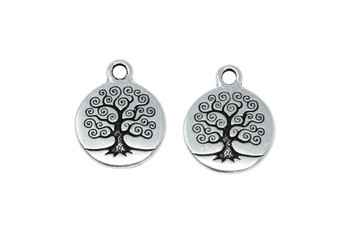 Small Tree of Life - Silver Plated