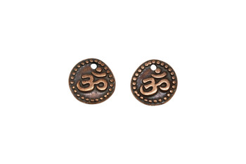 Om Coin  - Copper Plated