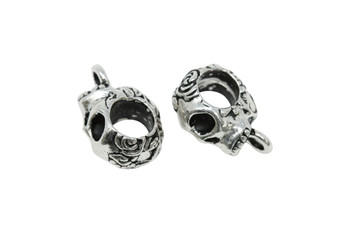 Skull Bail - Silver Plated