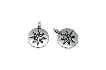 Mini North Star - Silver Plated