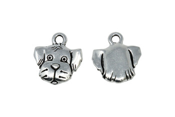 Spot Charm - Silver Plated