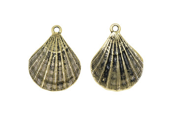 Scallop Shell - Gold Plated