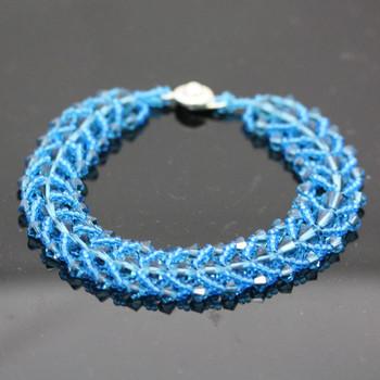 Sidewinder Bracelet Kit - Indicolite - Blue