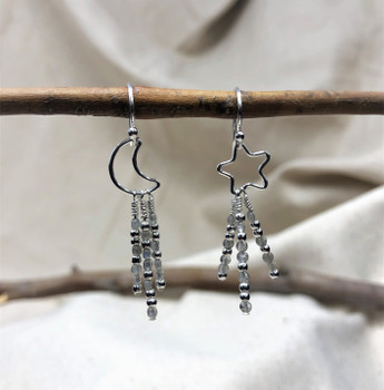 Sterling Silver Ball End Earring Wires - 2 Pairs
