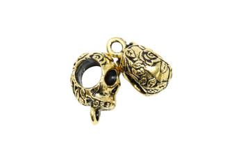 Skull Bail - Gold Plated