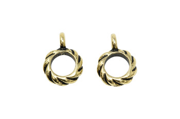 Twist Bail - Gold Plated